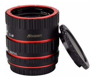 Tubo Extension Macro Para Canon Eos T2i/3i/4i/7i Ef Ef-s