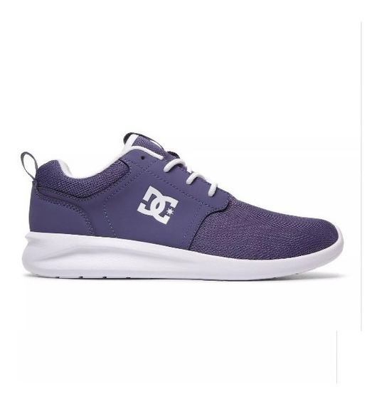Zapatillas Mujer Dc Midway Se Vn Fitness Gym Running