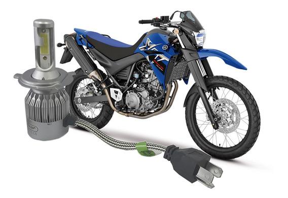 Lampada Super Led 6000k Farol Moto Xt 660 05 2006 07 Á 2016