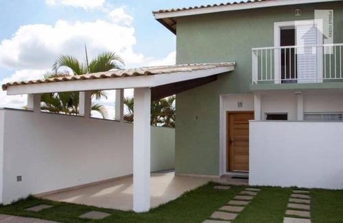 Casa Decorada À Venda, Residencial Pérola D´itália, Jardim Primavera, Itupeva - Ca0124. - Ca0124