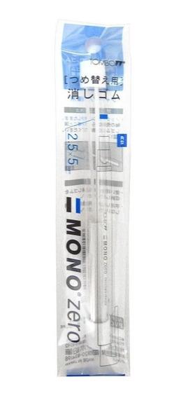 Tombow Refil Borracha Mono Zero Quadrada 2,5mm C/2