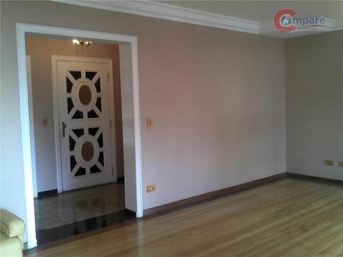 Apartamento Com 4 Dormitórios À Venda, 361 M² Por R$ 960.000,00 - Centro - Guarulhos/sp - Ap2763