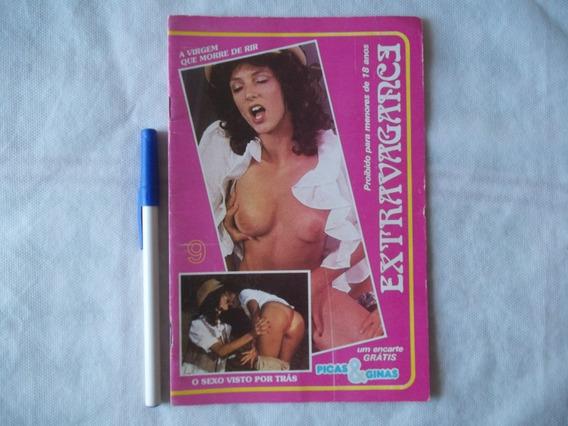 Antiga Revista Pornô Extravagance Nº 9 Clássica Anos 80 Leia