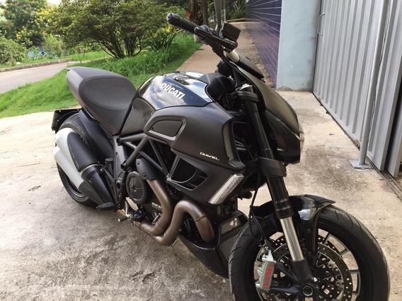 2013 Ducati Diavel Preto 1200cc