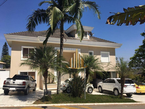 Casa Com 5 Suítes À Venda, 600 M² Por R$ 4.500.000 - Alphaville 09 - Santana De Parnaíba/sp - Ca1861