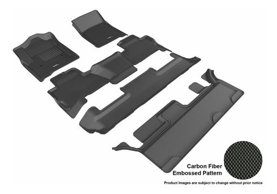 Tapete 3d Maxpider 1ra+2da+3r Fila Chevrolet Tahoe 2015-2020