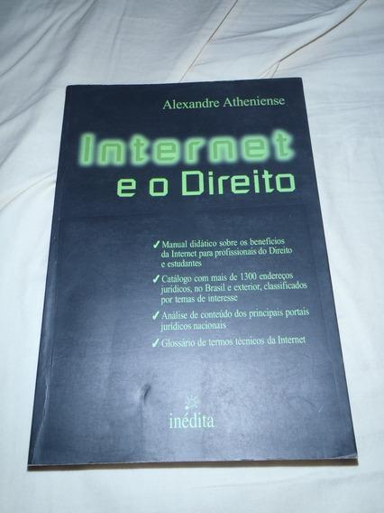 Livro Direito E Internet Alexandre Atheniense Raro