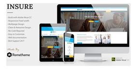 Template Wordpress Para Seguros, Finanças E Negócios