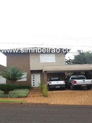 Vendo Casa Condomínio Nova Aliança. Ribeirão Preto. Agende Sua Visita. (16) 3235 8388. - Cc00637 - 4574077
