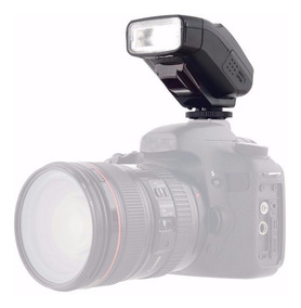 Mini Flash Jy610c Viltrox Canon Ttl Flash P/ Camera Dslr