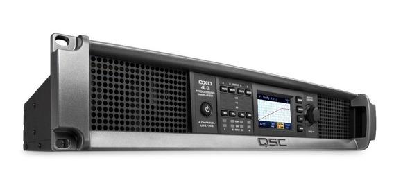 Qsc Cxd4.3 Amplificador 4 Canales A 625w