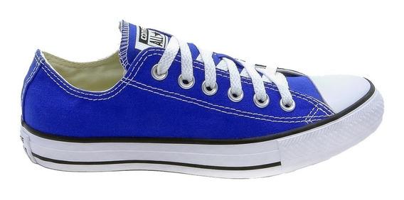 Tênis Converse All Star Chuck Taylor Baixo Azul Royal Bic