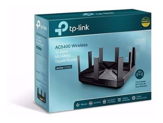 Roteador Wireless Gigabit Tp-link Archer 5400 Tri-band Nf