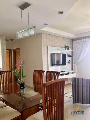 Apartamento Vila D Isabelle, 120m² Floradas De São José, São José Dos Campos. - Ap0932
