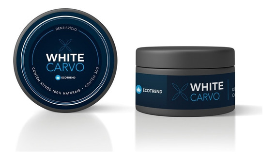 White Carvo Clareador Dental 30g Ecotrend Original