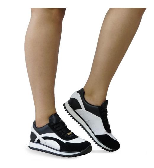 Tênis Vizzano Jogging Tratorado Feminino Confortável 1234126