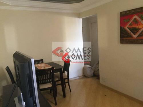 Apartamento Com 2 Dormitórios À Venda, 52 M² Por R$ 200.000,00 - Dos Casa - São Bernardo Do Campo/sp - Ap3156