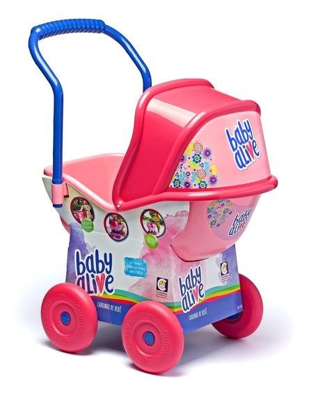 Carrinho De Bebe Boneca Baby Alive Menina Criança Reborn