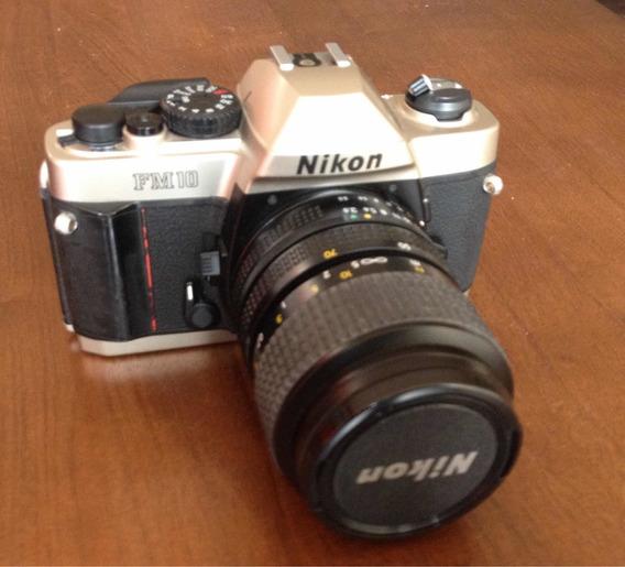 Máquina Fotográfica Nikon Fm 10