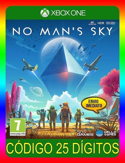 No Mans Sky Xbox One - 25 Dígitos (envio Já)
