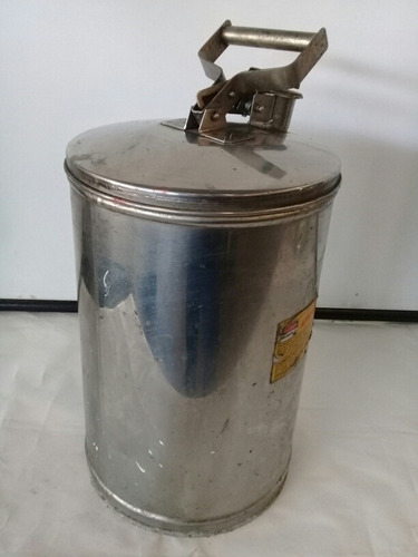 Balde Cilindro Container De Segurança 28l Inox 304