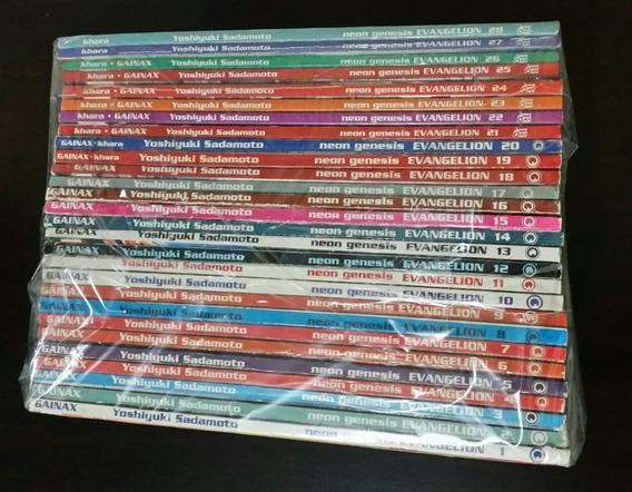 Coleção Mangá Evangelion Clássico 1 A 28 Conrad