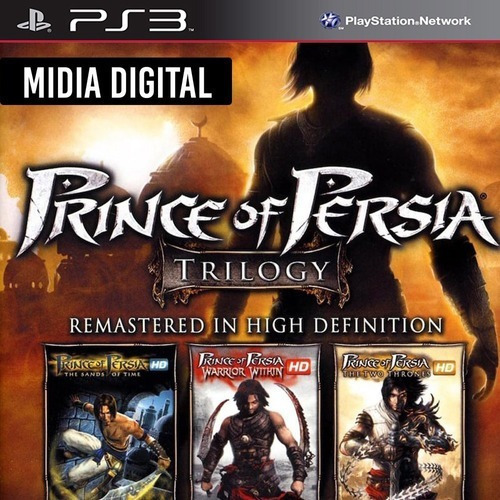 Prince Of Persia Trilogia Hd Ps3 Psn. Envio Rápido