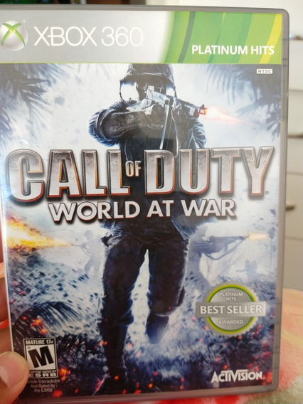 Call Of Duty Word At War Original Xbox 360