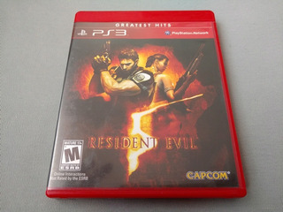 Resident Evil 5 Greatest Hits Original Para Ps3