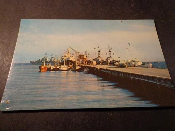 Chile- Punta Arenas Magallanes- Muelle Arturo Prat-ver Descr