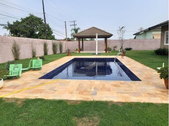 Chácara Com 2 Dormitórios Para Alugar, 770 M² Por R$ 2.300/mês - Condomínio Santa Inês - Itu/sp - Ch0032