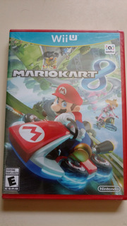 Mario Kart 8 Wii U Sellado