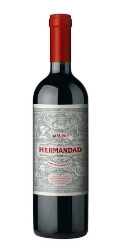 Vino Hermandad Malbec 750ml Flia Falasco