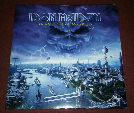 Iron Maiden - Brave New World (lp, Vinil)