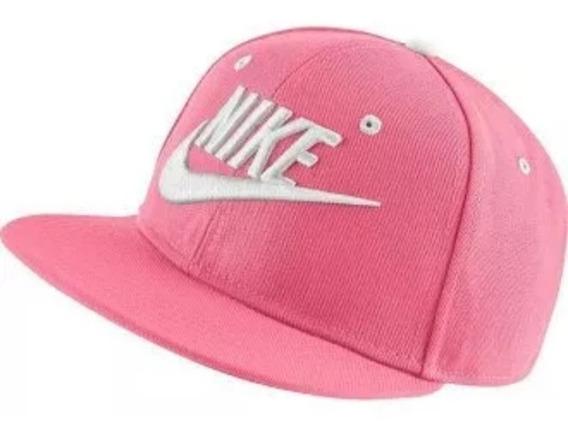Gorra Nike Bordada Youth Rosa Ajustable