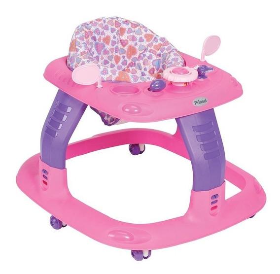 Andadera Para Bebe Sonic De Prinsel Rosa/morado 7161c