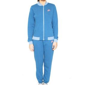 Agasalho Sportswear Tracksuit Feminino Azul Pink 831119 Nike