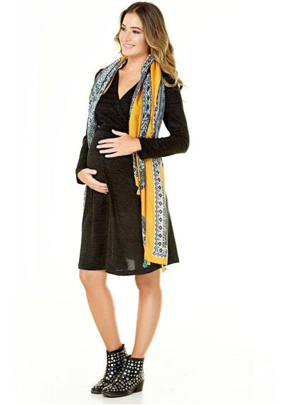 Vestido Para Futura Mamá Y Lactancia (diseño Urbano Tienda)