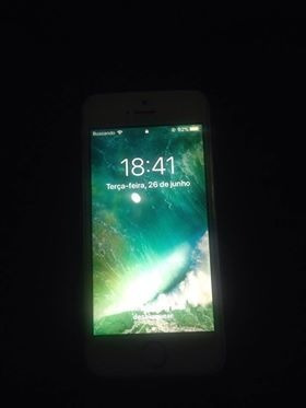 Vendo Celular iPhone 5se Branco