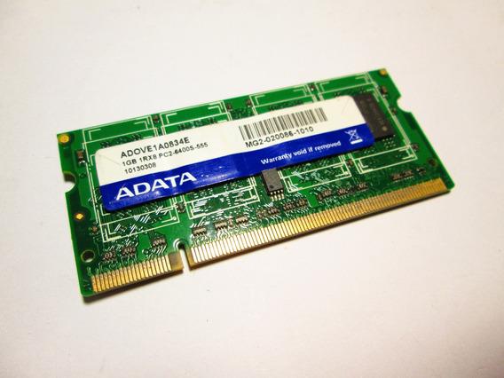 Memoria Notebook Adata 1gb 1rx8 Pc2-6400s-555 Adove1a0834e