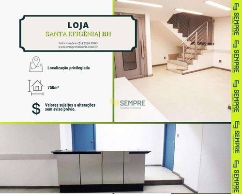 Imagem 1 de 3 de Loja-andar Para Alugar, 750 M² - Santa Efigênia - Belo Horizonte/mg - Lo0048