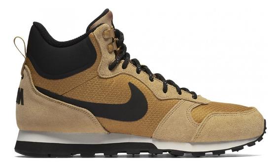 Tênis Nike Original Md Runner 2 Mid Prem Cano Alto Marron