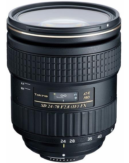 Lente Tokina At-x 24-70mm F2.8 Pro Fx Para Canon Garantia