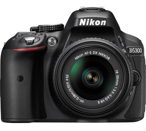 Câmera Nikon D5300 Kit Lojista Nfe Retirada Loja Envio Hoje