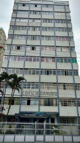 Imagem 1 de 23 de Apartamento Com 1 Dorm, Centro, São Vicente - R$ 215 Mil, Cod: 73 - V73