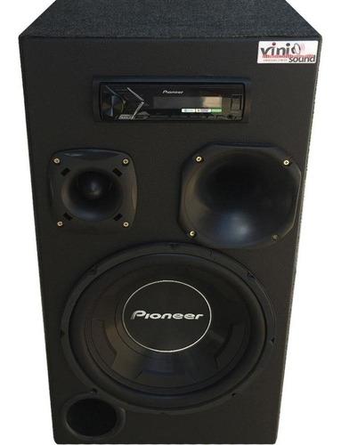 Caixa Residencial Bluetooth Room Pioneer Ts-w3090 Completa