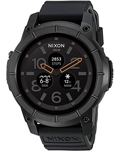 Nixon Mission Action Sports Smartwatch A1167001-00. Reloj Ne