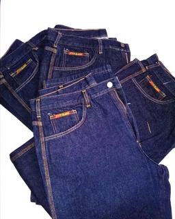 Pantalones Jeans Industriales Triple Costuras