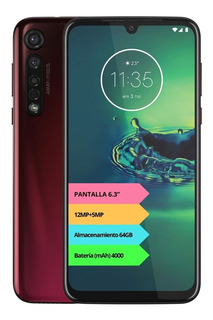 Celular Motorola Moto G8 Plus 4g 64gb 4gb Gtia Oficial Rt