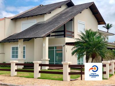 Casa Na Praia De Itaguaçu A 140 Do Mar, 3 Quartos, 2 Garagen